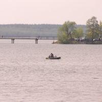 Рыбаки на озере Святое, Керва