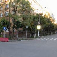 Улица Западная. Переход у школы №5, Климовск