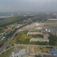 ::Весенняя сверху::, Климовск