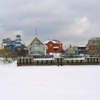 Клязьминское водохранилище зимой. Чиверево., Клязьма