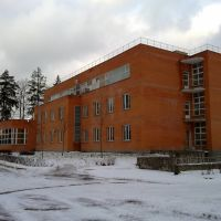 """Лечебно-оздоровительный корпус санатория """"Дубрава"""", Клязьма"""