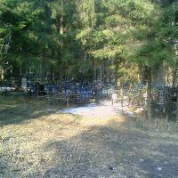Кладбище на территории санатория №58 рядом со 2м корпусом (корпус №6), Кожино