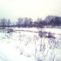 Пруд зимний, Кокошкино