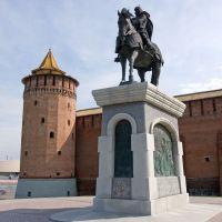 Dmitry Donskoy monument / Kolomna, Russia, Коломна