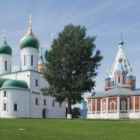 Uspensky and Tikhvinsky Cathedrals / Kolomna, Russia, Коломна