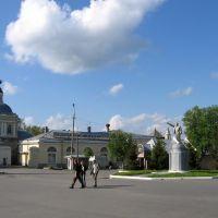 В.Ленин и ц. Иоана Богослова (Коломна), Коломна