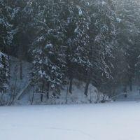 Зима на плотине, Колюбакино