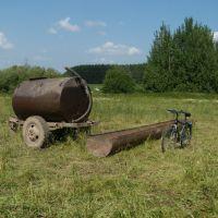Для коров - поилка, для велосипеда - мойка!, Косино