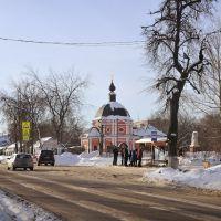 церковь Спаса Преображения Господня в усадьбе Коренево, Красково