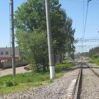 Железная дорога и станция, Красноармейск