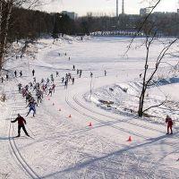 Начало Красногорской лыжни, Красногорск