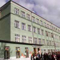 School #7 building, Краснозаводск