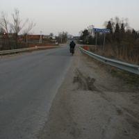Мост через Маглушу, Красный Ткач
