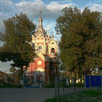 Церковь Казанской Божьей Матери, Красный Ткач