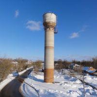 Водонапорная башня в Глебовском, Красный Ткач