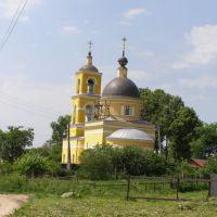 Село Крюково. Церковь Святителя Николая Мирликийского. Построена до 1855 года., Крюково