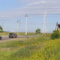 Когда-то по этой дороге из Мелихово ездил сам  А.П. Чехов., Крюково