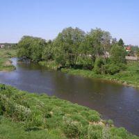 Река Лопасня в с. Крюково., Крюково