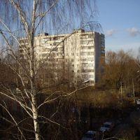 Вид на дом№38 в котором вырос!!!!, Куровское