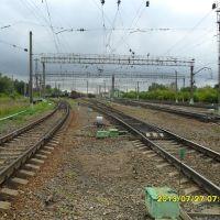 Железнодорожная станция Куровская. м, Куровское