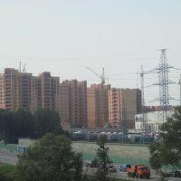 Строится новый квартал, Лесной Городок
