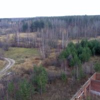Вид с недостроенного санатория, Ликино-Дулево