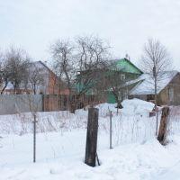 Вид на дома 22, 23 по ул. Кирова, Ликино-Дулево