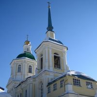 Церковь Спаса Нерукотворного Образа. Лобня, Лобня