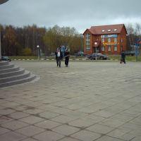 Площадь у здания администрации, Лобня