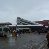 Площать в Лобне (зима), Лобня