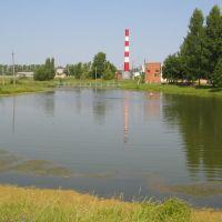 Вид на пруд и котельную / View on a Pond and Boiler-house, Лотошино