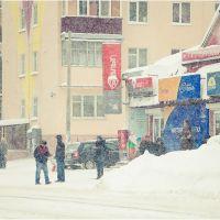 "Bus stop ""Bulochnaya"", Луховицы"