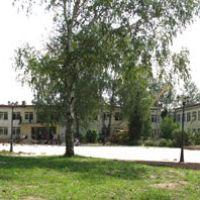 ДК Старт летом 2008 года в период ремонтных работ, Луховицы