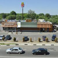 Макдоналдс на перекрестке в Луховицах, Луховицы