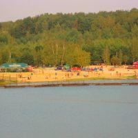 Озеро Волкуша и карьер, Лыткарино, Московская обл., Лыткарино