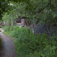 Олимпийский забор, Малаховка
