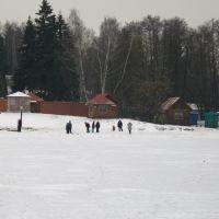 Малаховское озеро (зимой), Малаховка