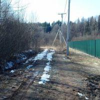 Дачная дорога, Михайловское