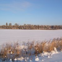 Зима в Барково, Михайловское