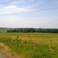 Вид на Барково, Михайловское
