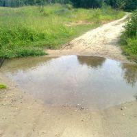 Ручей пересекает дорогу, Михайловское