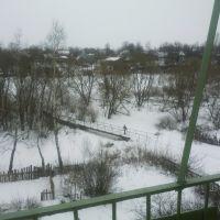 Вид из окна на мост, Михнево