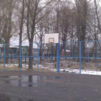 Баскетбольная площадка в Парке Культуры Михнево., Михнево