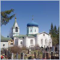 Ильинская слобода. Церковь Илии Пророка на местном кладбище. 05.2013., Можайск