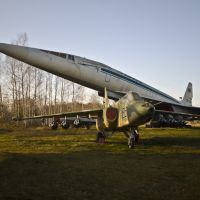 Monino, Central Air Force Museum, Tu-144, Nov-2008, Монино