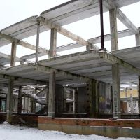Unfinished building at Monino, Монино