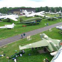 Монино музей ВВС июнь 2005-первый субботник АВИА.РУ -форум, Монино