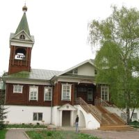 The Church of Life-giving Trinity in Perlovka District 1, Мытищи