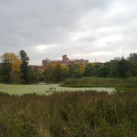 Вида на р.Нара и фабрику, Нарофоминск