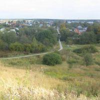 Вид с холма на Профсоюзной улице (на восток) / View from a Hill in Profsoyuznaja Street (on East), Нарофоминск
